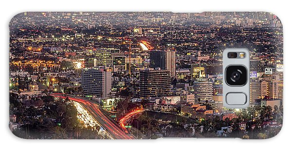 Mulholland Drive View #2 Galaxy Case