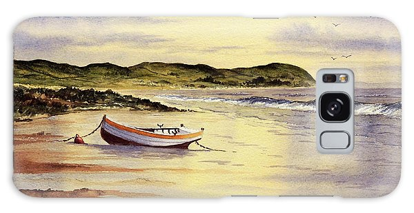 Galaxy Case featuring the painting Mull Of Kintyre Scotland by Bill Holkham