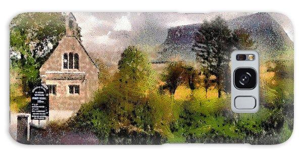 Mullaghnaneane Church And Ben Bulben Galaxy Case