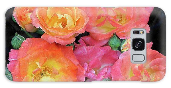 Multi-color Roses Galaxy Case by Jerry Battle