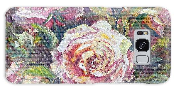Multi-hue And Petal Rose. Galaxy Case