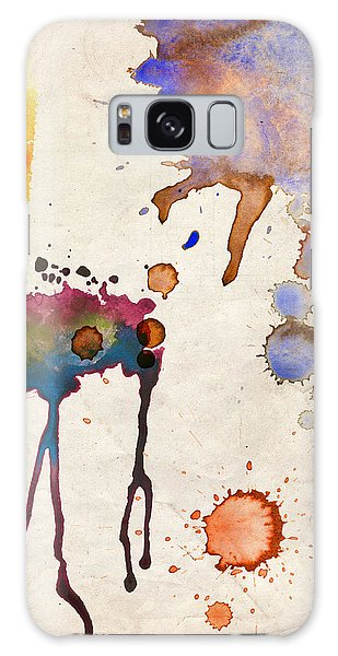 Multicolor Splash Galaxy Case