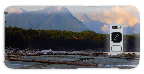 Multileval Photography In One Land Water Trees Mountain Clouds Skyview Olympic National Park America Galaxy Case