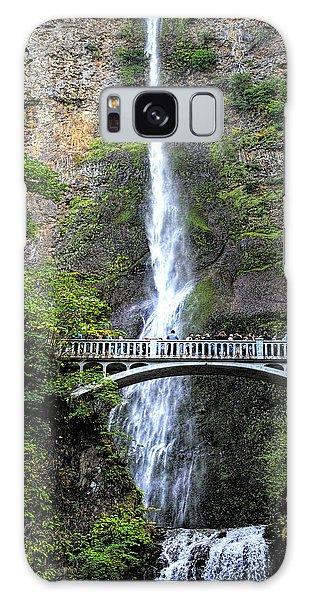 Multnomah Falls, Columbia River Gorge Galaxy Case by Greg Sigrist