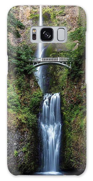 Galaxy Case featuring the photograph Multnomah Falls by Pierre Leclerc Photography