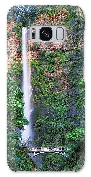 Multnomah Falls Portland Oregon Galaxy Case