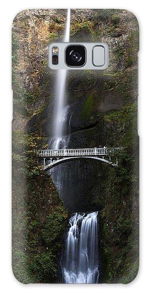 Galaxy Case featuring the photograph Multonomah Falls by John Gilbert