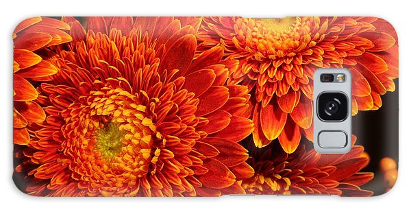 Mums In Flames Galaxy Case