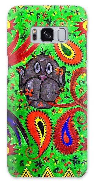 Mun Moji-hookah Monkey Galaxy Case