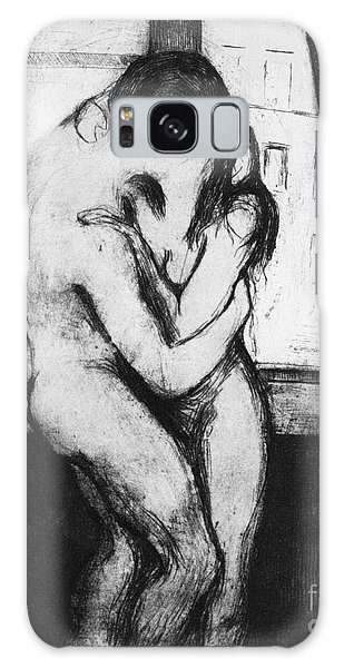 Munch The Kiss, 1895 - To License For Professional Use Visit Granger.com Galaxy Case