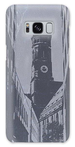 Town Square Galaxy Case - Munich Frauenkirche by Naxart Studio