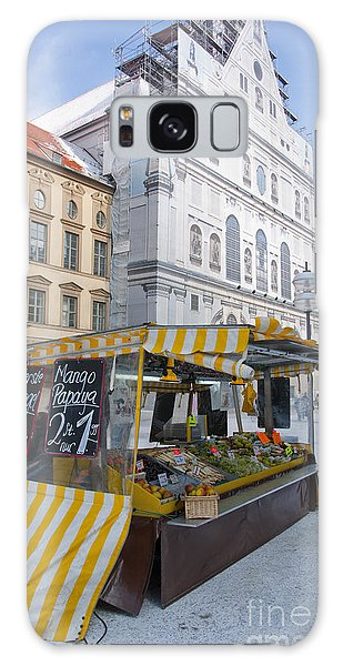 Munich Fruit Seller Galaxy Case