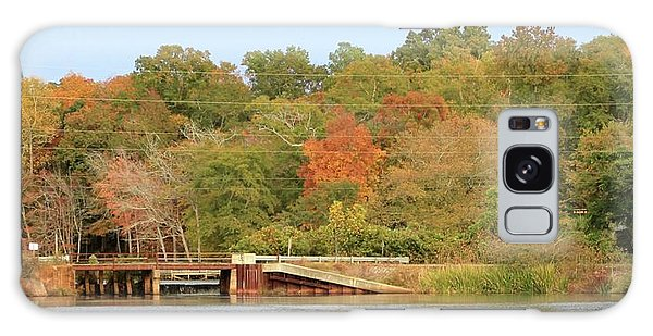 Murphy Mill Dam/bridge Galaxy Case by Jerry Battle