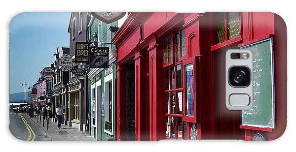 Murphys Bed And Breakfast Dingle Ireland Galaxy Case