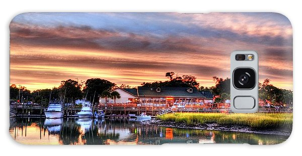 Murrells Inlet Sunset 3 Galaxy Case