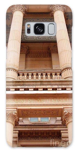 Museum And Art Gallery Entrance Galaxy Case by Stephen Melia