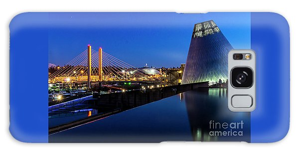 Museum Of Glass At Blue Hour Galaxy Case