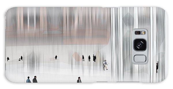 Museum Of Nothing Galaxy Case by Pedro L Gili
