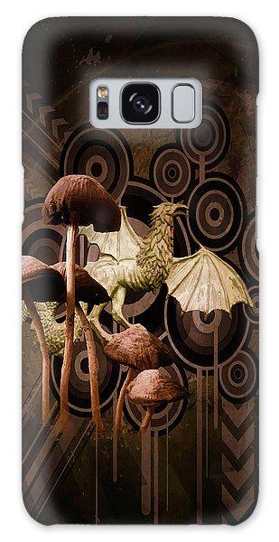Mushroom Dragon Galaxy Case