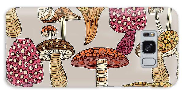 Mushroom Galaxy Case - Mushroom Pattern by Valentina