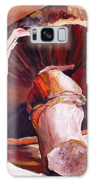 Mushroom Still Life Galaxy Case by Toni Grote