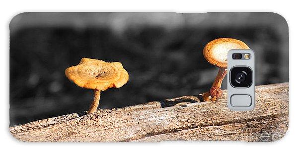 Mushrooms On A Branch Galaxy Case