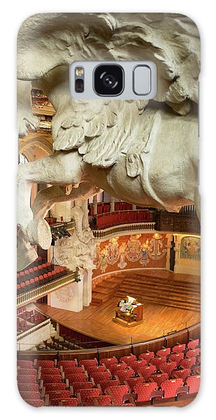 Galaxy Case featuring the photograph Palau De La Musica Catalana, Barcelona by Frank DiMarco