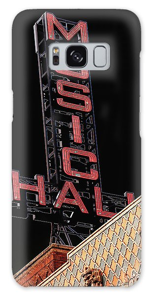 Music Hall Sign Galaxy Case