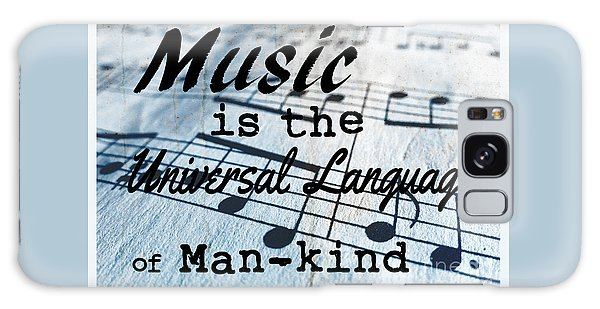 Language Galaxy Case - Music Is The Universal Language Of Man-kind by Edward Fielding