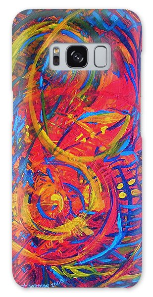 Music Galaxy Case by Jeanette Jarmon