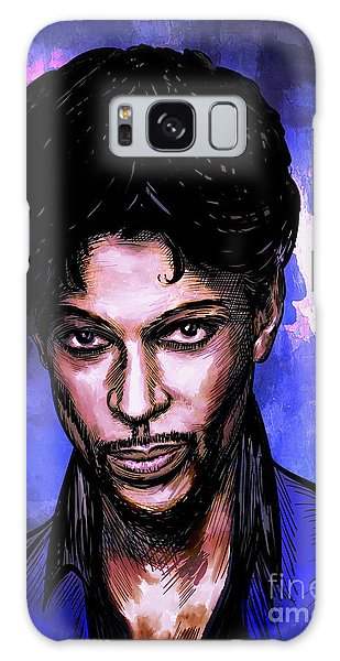 Music Legend  Prince Galaxy Case
