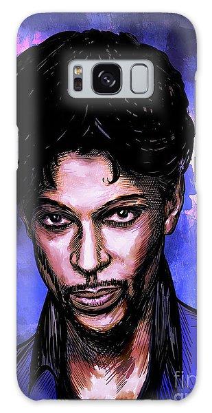 Music Legend  Prince Galaxy Case