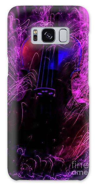 Music Light Painting  Galaxy Case