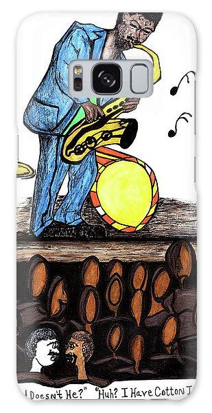 Music Man Cartoon Galaxy Case