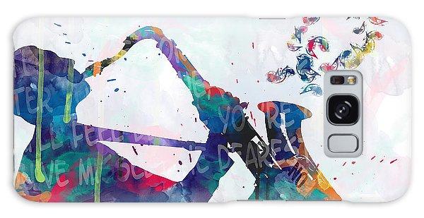 Saxophone Galaxy Case - Music  by Mark Ashkenazi