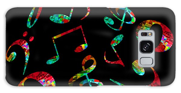 Music Notes Galaxy Case