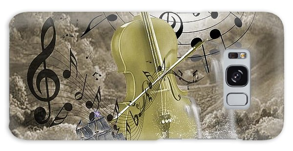 Music Time Galaxy Case