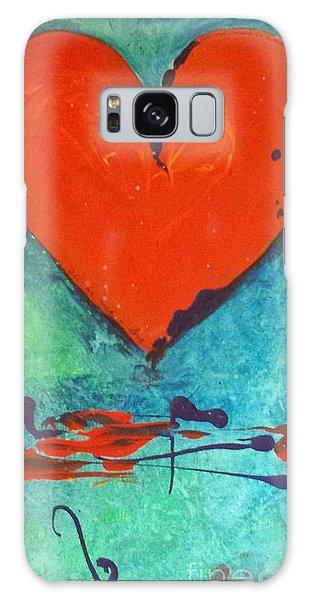 Musical Heart Galaxy Case by Diana Bursztein