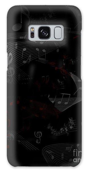Musical Notes Galaxy Case