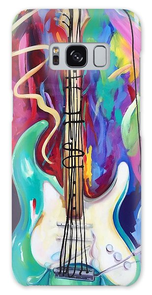 Musical Whimsy  Galaxy Case by Heather Roddy