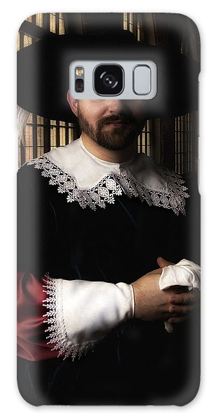 Musketeer In The Old Castle Hall Galaxy Case