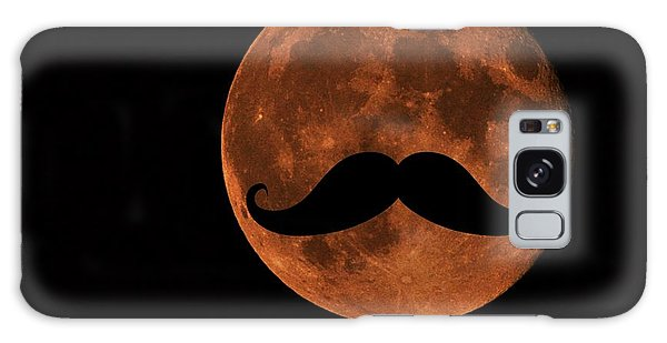 Mustache Moon Galaxy Case