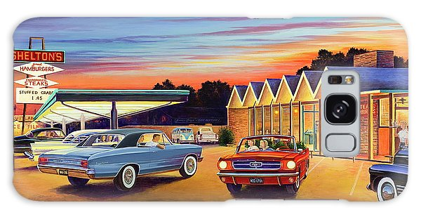 Restaurants Galaxy Case - Mustang Sally - Shelton's Diner 2 by Randy Welborn