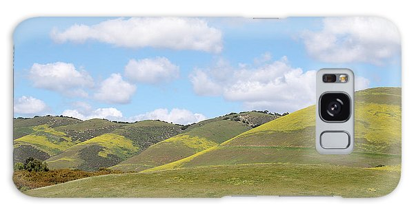 Mustard On Nipomo Hills Galaxy Case by Art Block Collections