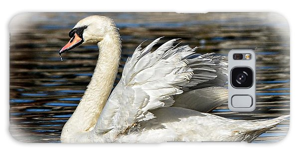 Mute Swan Galaxy Case by Kathy Baccari