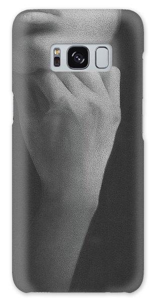 Muted Shadow No. 2 Galaxy Case