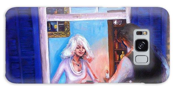 Intimate Conversation Galaxy Case
