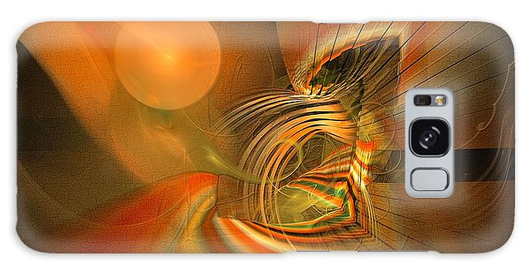Mutual Respect - Abstract Art Galaxy Case by Sipo Liimatainen
