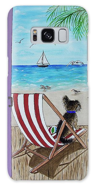 Galaxy Case - My 3 By The Sea by Megan Cohen