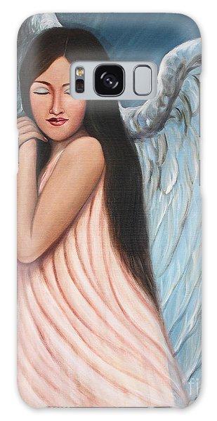 My Angel In Blue Galaxy Case